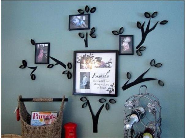 10 Приголомшливих ідей для прикраси стін в будинку