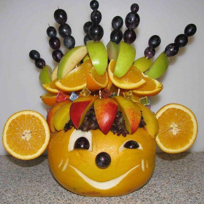 мавпочка з фруктів