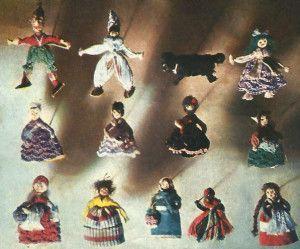 Лялька з муліне своїми руками
