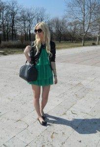 З чим носити зелену сукню (20 фото)